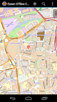 Screenshot of Essen Offline City Map