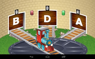 Screenshot of Kids ABC Trains Game