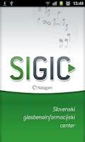 Screenshot of Sigic