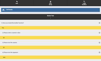 Screenshot of Android2Web