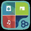 App Color Box GO Live Theme (Blue) apk for kindle fire