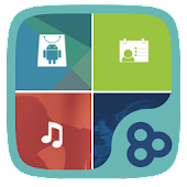 Free Color Box GO Live Theme (Blue) APK for Windows 8