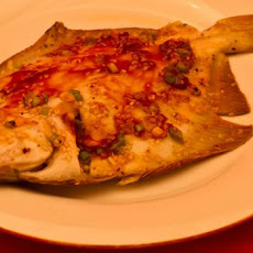 Flounder Fillets Grilled in Foil With an Asian Touch