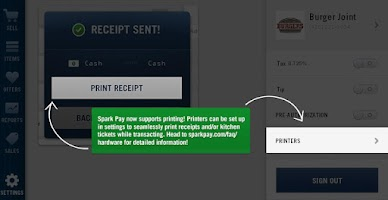 Screenshot of Spark Pay