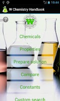 Screenshot of W Chemistry Handbook