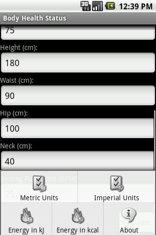 【免費健康App】Body Health Status-APP點子