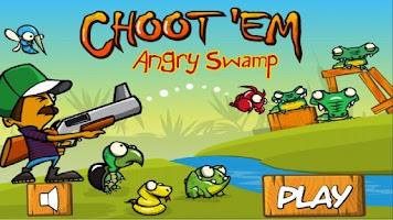 Screenshot of Angry Swamp ChootEm