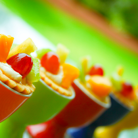 Fruit Tarts by Reiner Locsin - Food & Drink Candy & Dessert ( colour, cups, food, fruits, dessert )