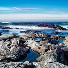 Golta by Janne Monsen - Nature Up Close Rock & Stone ( golta, hordaland, sund, sotra, norway )