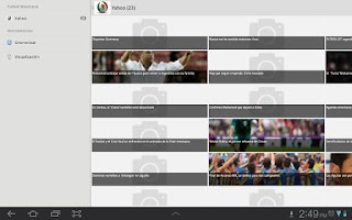 Screenshot of Futbol Mexicano