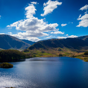 Haweswater lake district by Gareth Fleming - Landscapes Mountains & Hills ( clouds, hill, mountain, haweswater, cloud, lake, lakedistrict )