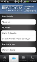 Screenshot of SC Workers Comp Lawyer