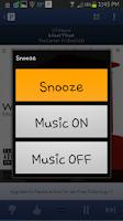 Screenshot of FREE Pandora Alarm Clock