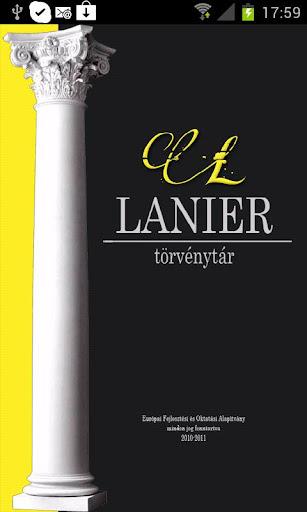 Lanier PRO - Törvénytár