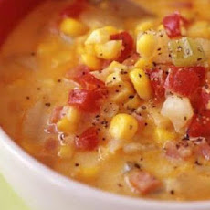 Summer Corn, Bacon and Potato Chowder - Ww Core