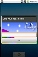 Screenshot of TamaWidget Cow *AdSupported*