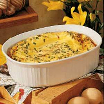 Bacon and Eggs Casserole