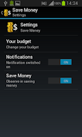 Screenshot of Save money