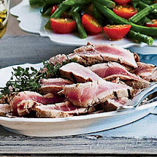 Grilled Niçoise Tuna Steaks