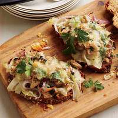 Hold-the-Mayo Tuna Melts with Fennel and Onion