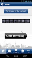 Screenshot of Samsonite Travel Miles Europe