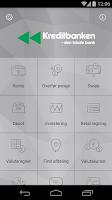 Screenshot of Kreditbankens Mobilbank