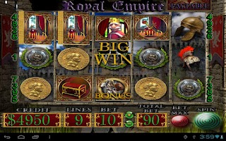 Screenshot of Royal Empire - Slot Machine