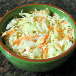 Cole Slaw With Creamy Tangy Dressing