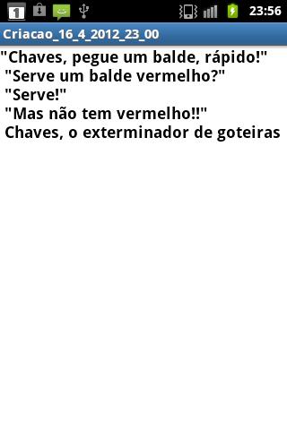 Frases do Chaves