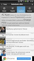 Screenshot of Sport Nieuws