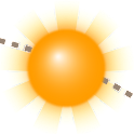 Sun Position und Sunrise Demo icon