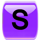 Purple Socialize for Facebook icon