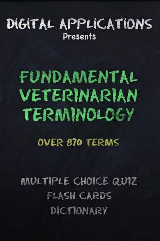 870+ VETERINARIAN TERMS Quiz