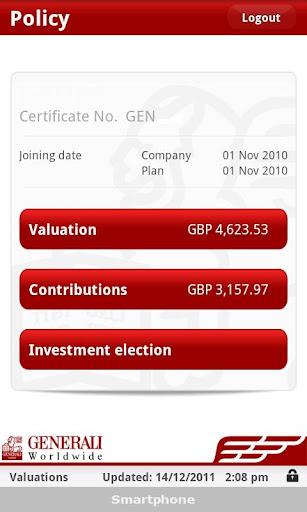 Generali Worldwide Valuations