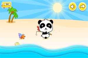 Screenshot of Baby Fishing by BabyBus