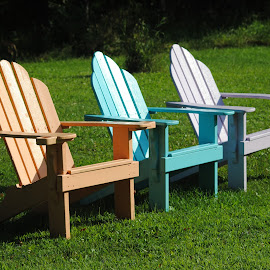 Summer time by Margaret Potter - Artistic Objects Furniture ( Chair, Chairs, Sitting,  )