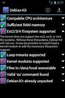 Screenshot of Debian Kit