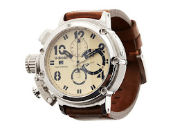 U-Boat - Chimera 48MM 925 Beige (Beige Buckle/Cream Dial) - Jewelry
