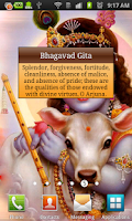 Screenshot of Bhagavad Gita Quotes