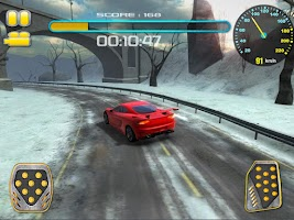 Screenshot of Cold Hard Drift Rally