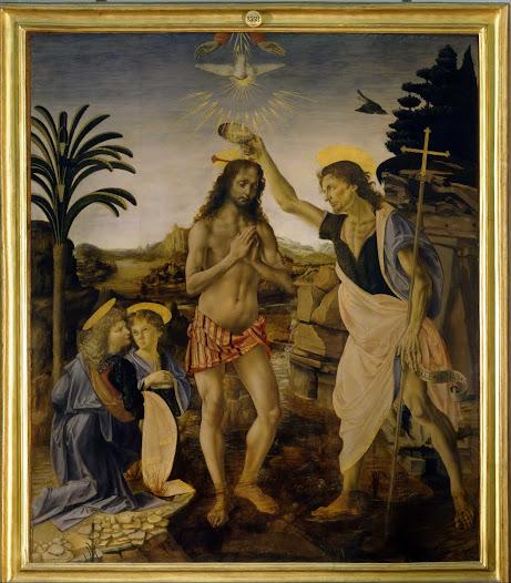 Verrocchio, Battesimo di Cristo