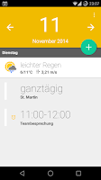 Screenshot of Calendar Widget+Status FREE