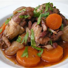 Coq Au Vin With Herbs