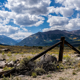 Near Leadville by David Umphfleet - Landscapes Mountains & Hills ( mountains, big sky, colorado, landscapes, rockys )