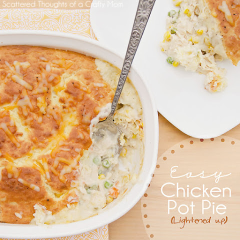Easy Chicken Pot Pie (Lightened up)