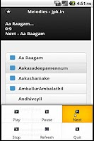 Screenshot of Online Malayalam Songs