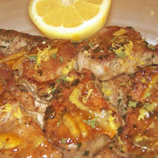 Lemon Marmalade Pork Chops
