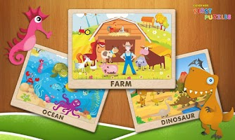 Screenshot of Kids First Puzzles HD