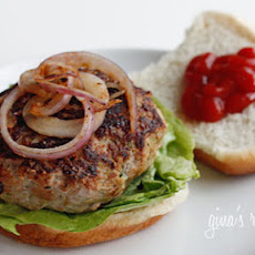 Skinnytaste.com Turkey Burgers with Zucchini