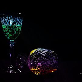 Colortini by Randi Nilsberg - Food & Drink Alcohol & Drinks ( glasses, martini, alcohol, texture, colors, food color, rainbow colors, drinks, appletini )